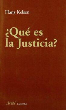 portada Qué es Justicia? (Ariel Derecho)