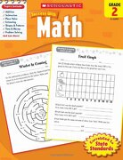 Math, Grade 2 (Scholastic Success With Workbooks: Math) (libro en Inglés) - Scholastic - Scholastic Teaching Res