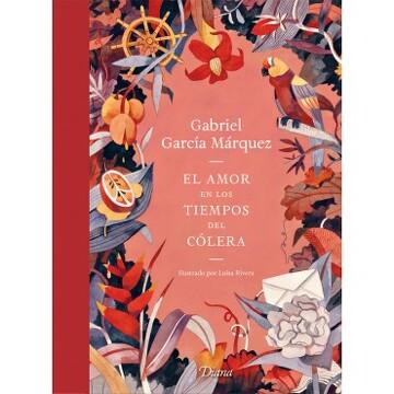 portada Amor en los Tiempos del Colera, el (Ed. Ilustrada)