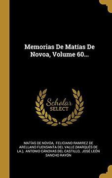 portada Memorias de Matías de Novoa, Volume 60.