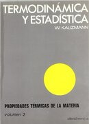 Termodinamica y Estadistica - Walter Kauzmann - Editorial Reverte