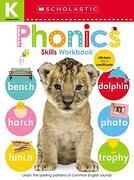 Kindergarten Skills Workbook: Phonics (Scholastic Early Learners) (libro en Inglés)