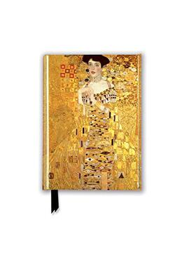 portada Gustav Klimt: Adele Bloch Bauer i (Foiled Pocket Journal) (Flame Tree Pocket Books) (libro en Inglés)