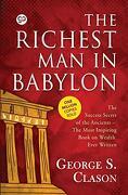 The Richest man in Babylon: 9789387669369 (libro en Inglés)