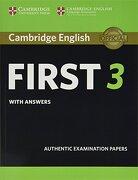 Cambridge English First 3 Student's Book With Answers (Fce Practice Tests) (libro en Inglés) - Cambridge Assessment - Cambridge University Press