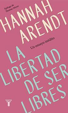 portada La Libertad de ser Libres