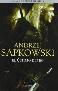 portada Ultimo Deseo - Saga Geralt de Rivia 1 Tela (Alamut Serie Fantástica)