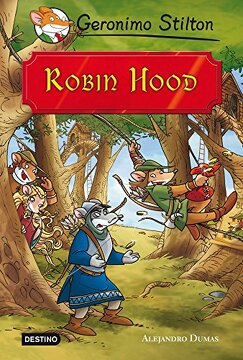 portada Grandes Historias. Robin Hood