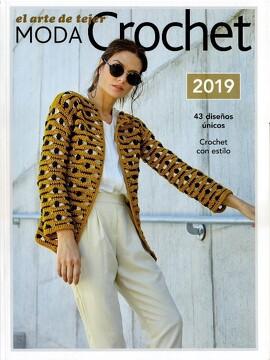 portada El Arte de Tejer. Moda Crochet 2019