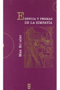 Esencia y Formas de la Simpatía - Max Scheler - Ediciones Sigueme