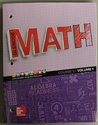 Glencoe Math - Course 3 - Volume 1 - Mcgraw-Hill Education - Mhe Us