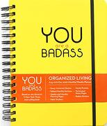 You are a Badass 2019-2020 17-Month Monthly (libro en Inglés)