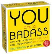 You are a Badass 2020 Day-To-Day Calendar (libro en Inglés)