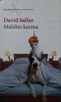 portada MALDITO KARMA (SEIX BARRAL BIBLIOTECA FORMENTOR)