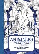 Animales Fantasticos y Donde Encontrarlos: Un Libro de 20 Postales Para Colorear - Harpercollins Espanol - Harpercollins Espanol