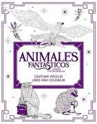 Animales Fantásticos y Dónde Encontrarlos: Criaturas Mágicas. Libro Para Colorea - Harpercollins Espanol - Vida Publ