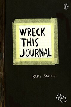 portada Wreck This Journal (libro en Inglés)