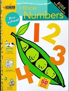 I Know Numbers (Step Ahead Golden Books Workbook) (libro en Inglés) - Golden Books - Golden Books Pub Co Inc