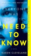 Need to Know: A Novel (libro en Inglés)