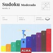 Sudoku Moderado. Nivel 5 (cuadrados de diversión) - Anders Producciones - Editorial Alma