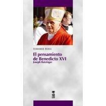 portada Pensamiento de Benedicto Xvi, el