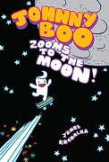 Johnny boo Book 6: Zooms to the Moon (libro en Inglés) - James Kochalka - Top Shelf Productions