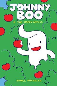 portada Johnny boo Book 3: Happy Apples (libro en Inglés)