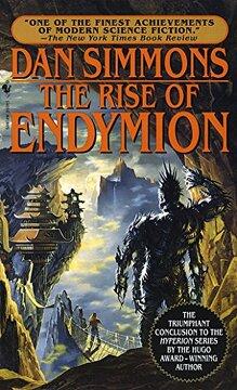 portada The Rise of Endymion (a Bantam Spectre Book) (libro en Inglés)