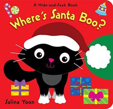 portada Where's Santa Boo? (libro en Inglés)