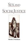 Sex and Social Justice (libro en Inglés) - Martha C. Nussbaum - Oxford University Press