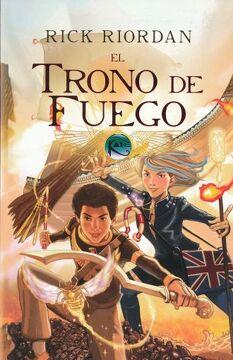 portada Trono de Fuego, el