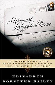 portada A Woman of Independent Means (libro en Inglés)