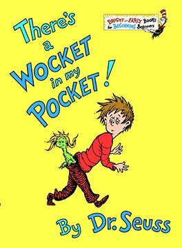portada There's a Wocket in my Pocket (Bright & Early Books(R)) (libro en Inglés)