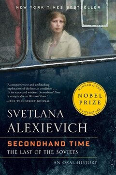 portada Secondhand Time: The Last of the Soviets (libro en Inglés)