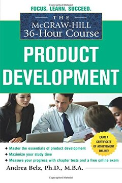 portada The Mcgraw-Hill 36-Hour Course Product Development (Mcgraw-Hill 36-Hour Courses) (libro en Inglés)