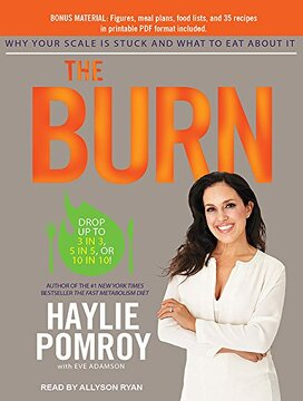 portada The Burn: Why Your Scale is Stuck and What to eat About it (libro en Inglés)