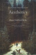 Selected Writings on Aesthetics (libro en Inglés) - Johann Gottfried Herder - Princeton University Press