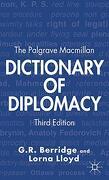 The Palgrave Macmillan Dictionary of Diplomacy (libro en Inglés) - G. Berridge; L. Lloyd - Palgrave Macmillan