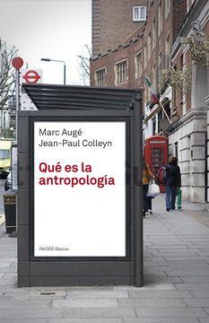 portada Qué es la Antropología
