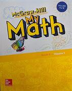 Mcgraw-Hill my Math, Grade k, Student Edition, Volume 1, 9780079057679, 0079057675