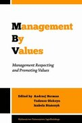 Management by Values: Management Respecting and Promoting Values (libro en Inglés) - Andrzej Herman - Jagiellonian University Press