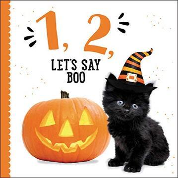 portada 1, 2, Let's say boo (libro en Inglés)