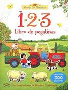 123 Libro Pegatinas Granj - Usborne - Usborne