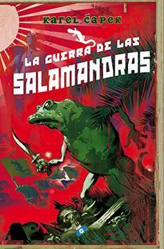 portada La Guerra de las Salamandras - Omnium