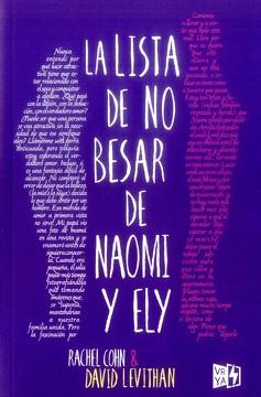 portada La Lista de no Besar de Naomi y ely