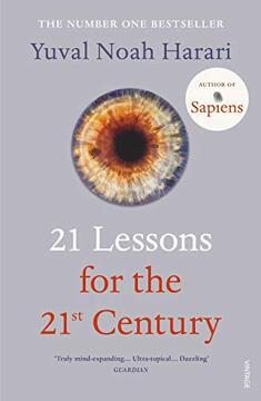 portada 21 Lessons for the 21St Century (libro en Inglés)