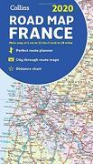 Collins 2020 Road map France (libro en Inglés)