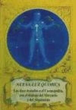 portada Nueva luz Química: Los Doce Tratados o el Cosmopolita con el Diálogo del Mercurio y del Alquimista