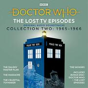 Doctor Who: The Lost tv Episodes Collection Two: 1st Doctor tv Soundtracks (libro en Inglés) (Audiolibro)