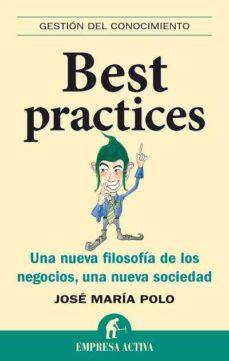 Best practices; josé maría polo
